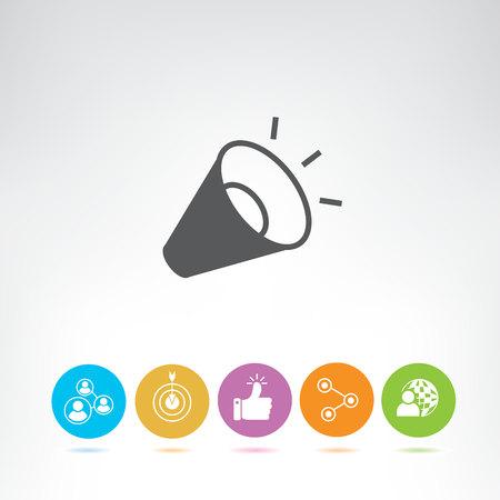 iconos de gestión y recursos humanos