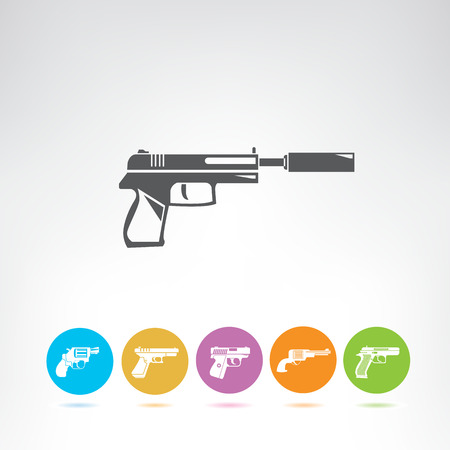 pistol and gun icons