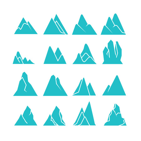 blue mountain icons
