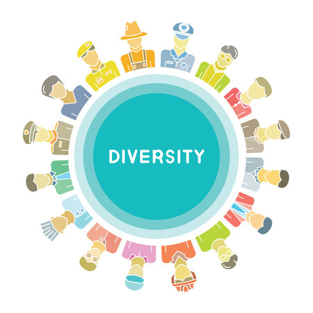 group of people for diversity concept