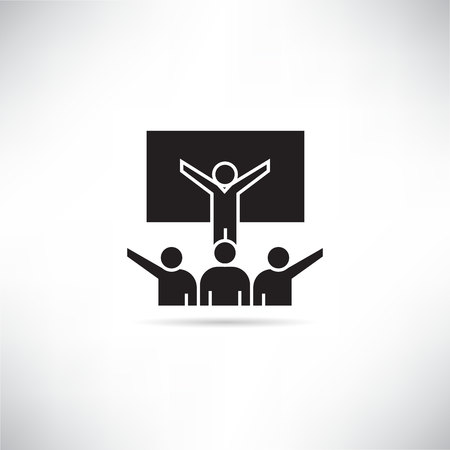 business conference icon Vecteurs