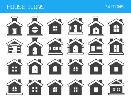 home and house icons