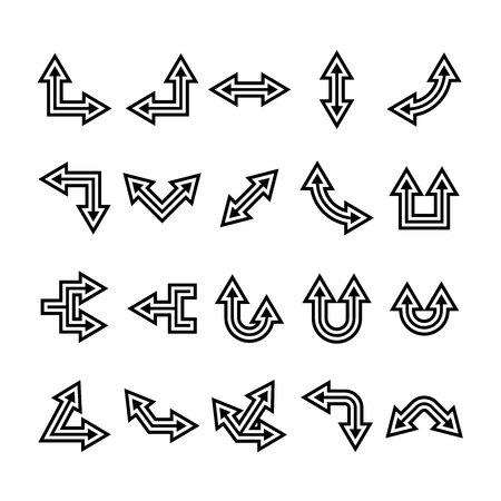 arrow icons set, cursor