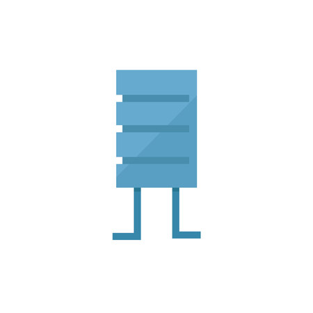 resistor electric component icon