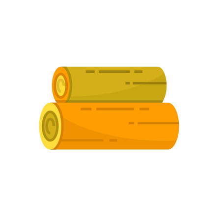 lumber, timber icon Illustration