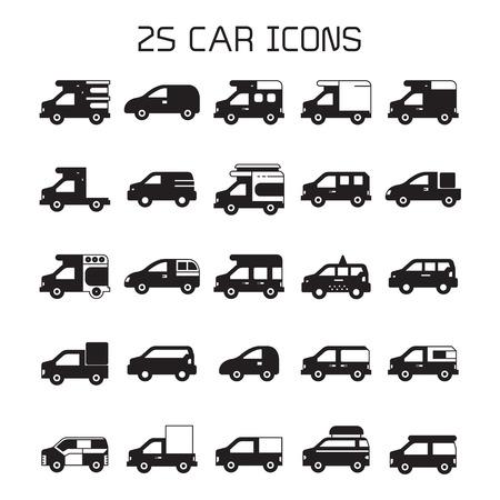 car transportation icons