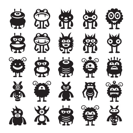 monster character icons