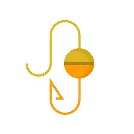 fishing hook icon Çizim