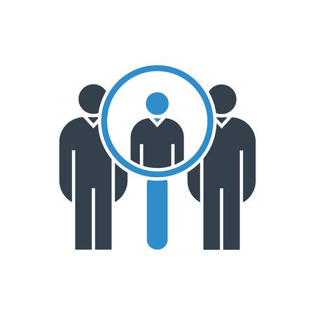 human resource concept icon