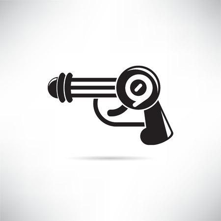 futuristic gun, futuristic weapon