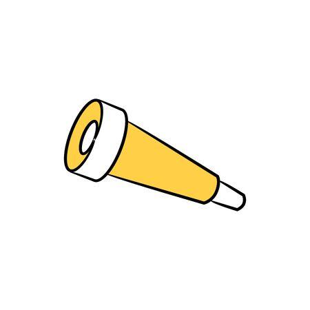binoculars doodle icons
