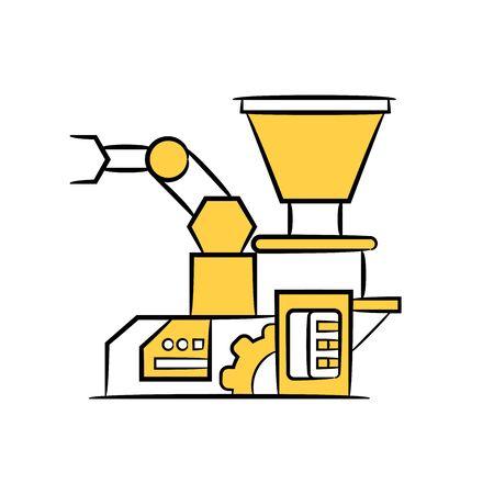 robotic arm and industrial machine