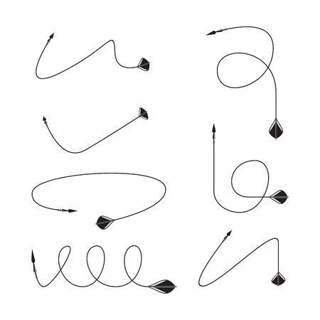 arrows vector set