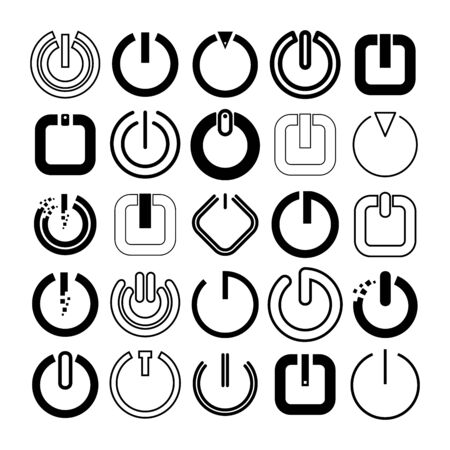 power, start and reset button set
