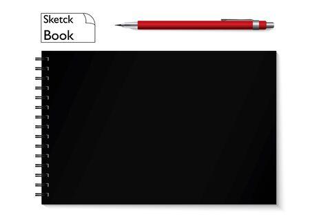 sketchbook: sketchbook and pencil