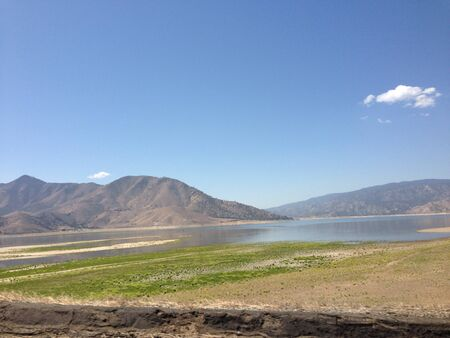 湖イザベラ 写真素材