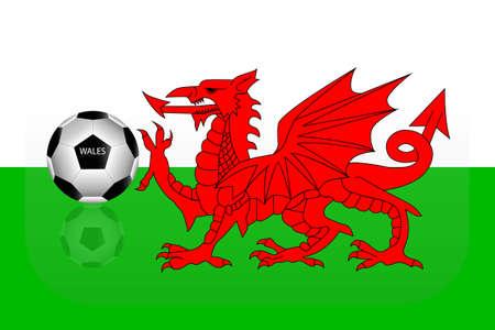 wales: Wales flag