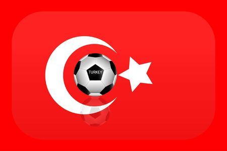 flag: Turkey flag Illustration