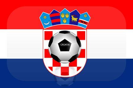bandera croacia: Croacia bandera