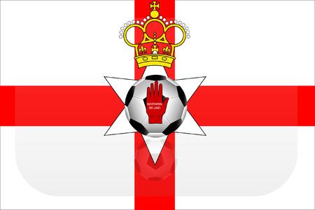 northern: Northern Ireland flag version 2