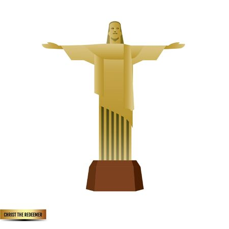 Christ the Redeemer of Brazil Çizim