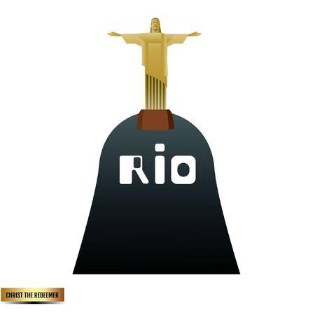 Rio Brazil remarkable 向量圖像