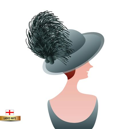 Lady hat Çizim