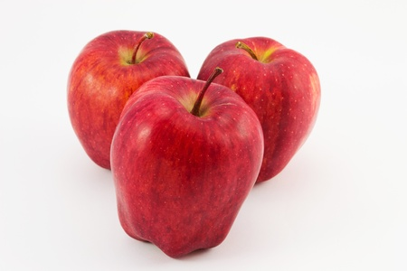 Three apple apple Stock Photo - 12203936