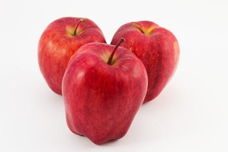 Three apple apple Stock Photo - 12203936