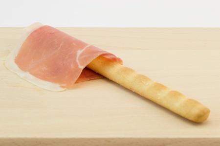 gressins: Ham et grissini gressins