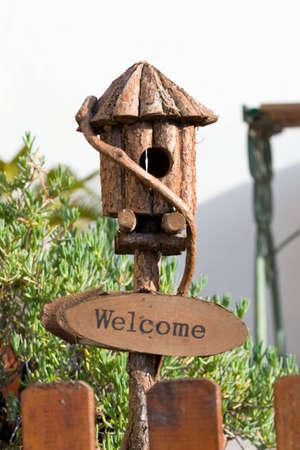 House bird house photo
