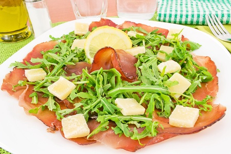 bresaola Stock Photo