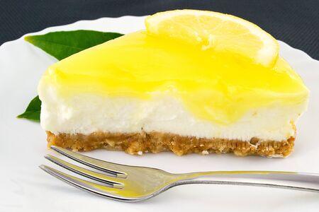cheesecake lemon Imagens - 13605661