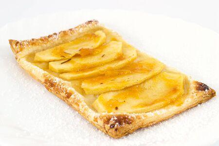 marillenmarmelade: Puffs von Apfel-und Aprikosenmarmelade Lizenzfreie Bilder