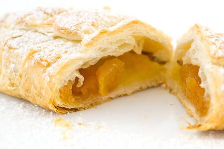 mini strudel Stock Photo
