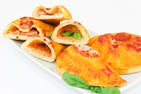 calzone stuffed photo
