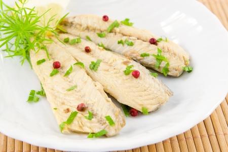 fillet of mackerel  Фото со стока