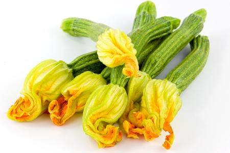 calabacin: Las flores de calabaza