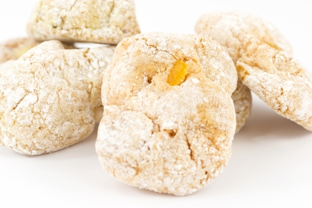 almond cookies photo