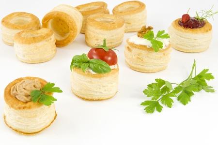 tartlets filled