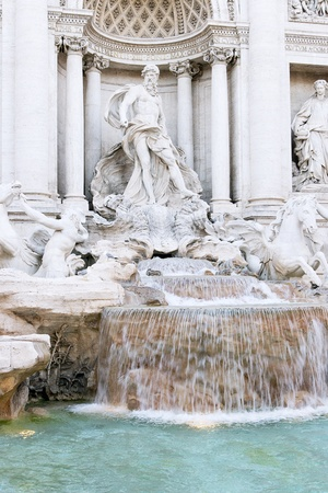 Trevi Fountain, Rome  photo