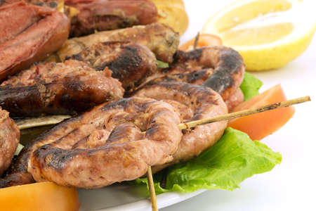 Mixed grilled meat  photo