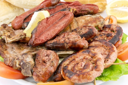 Mixed grilled meat