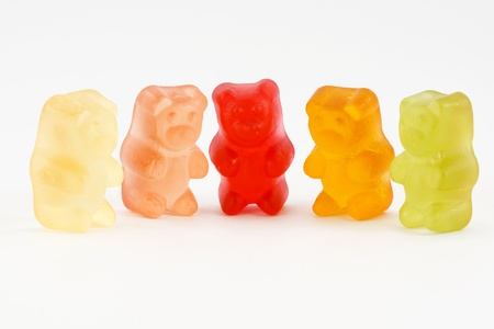 Gummy: gummy bears Stock Photo