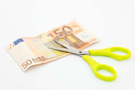 failures: euro crisis Stock Photo