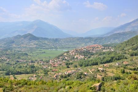 Posta Fibreno, Frosinone Stockfoto