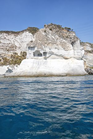 pontine: Tip of the guard, Ponza Stock Photo