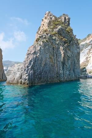 pontine: Madonna of the rocks, Ponza