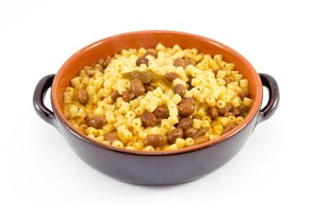 pasta en bonen