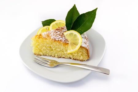 lemon cake Фото со стока
